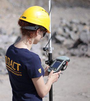 Геодезичні роботи: GPS-зйомка
